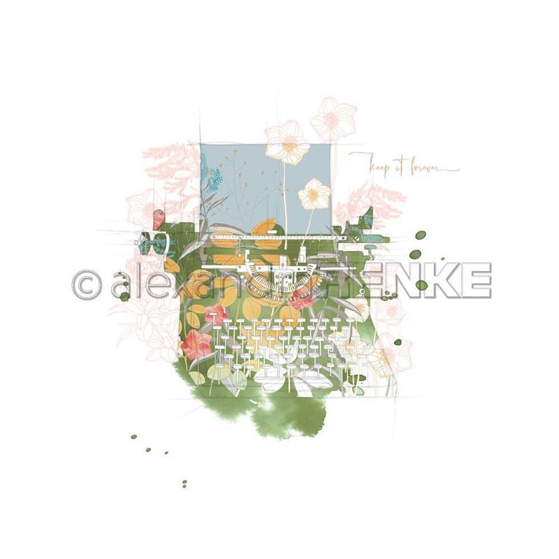 Flowery Typewriter | Memories | Alexandra Renke