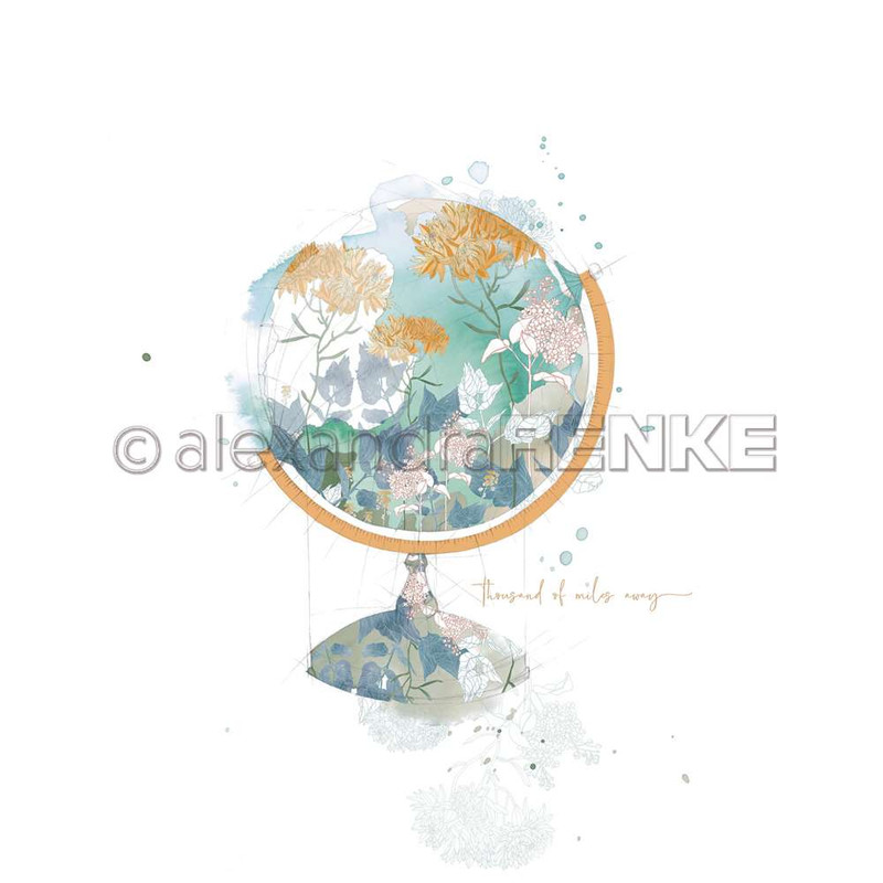 Flowery Globe | Memories | Alexandra Renke