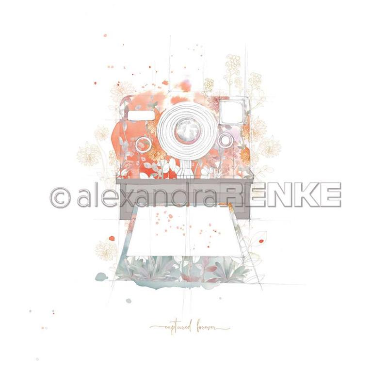 Flowery Polaroid | Memories | Alexandra Renke