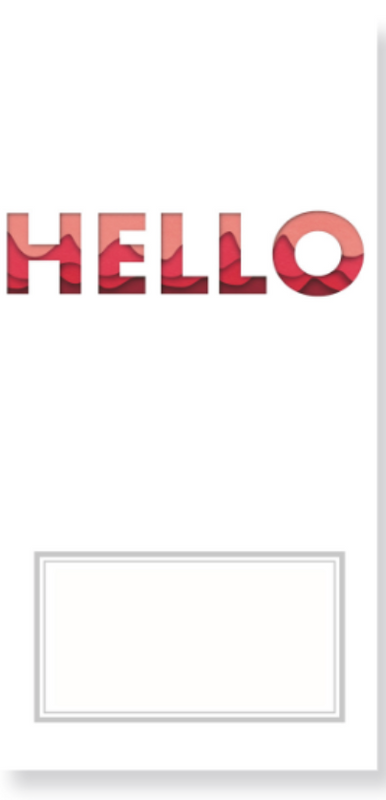 Hello Travelers Notebook Insert | Studio Forty