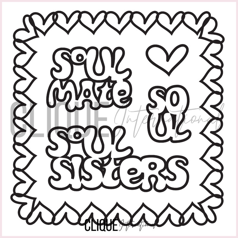 Galentine's Day Free Cut Files | Soul Sisters | By Nicole Kerr