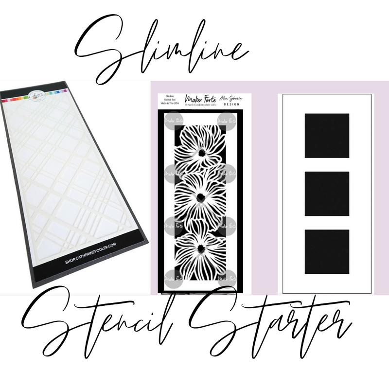 Explore & Learn Kit   Slimline Stencil Starter