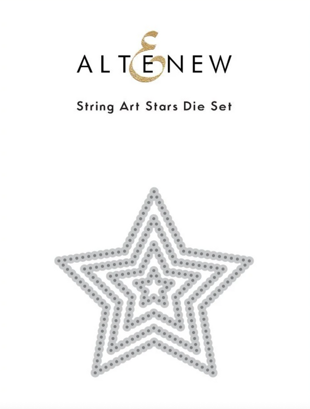 String Art Stars | Die Set | Altenew