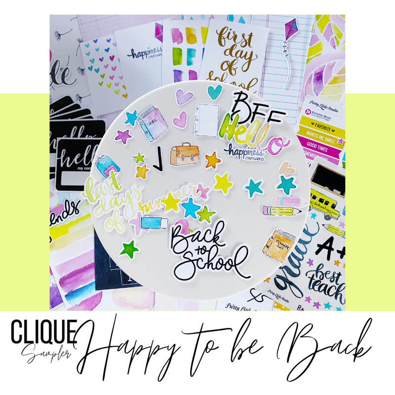 Limited Edition Kit | Happy to be Back | Pretty Little Studio