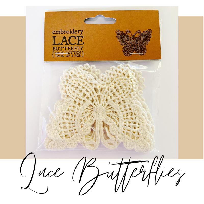 Crochet Lace Butterflies