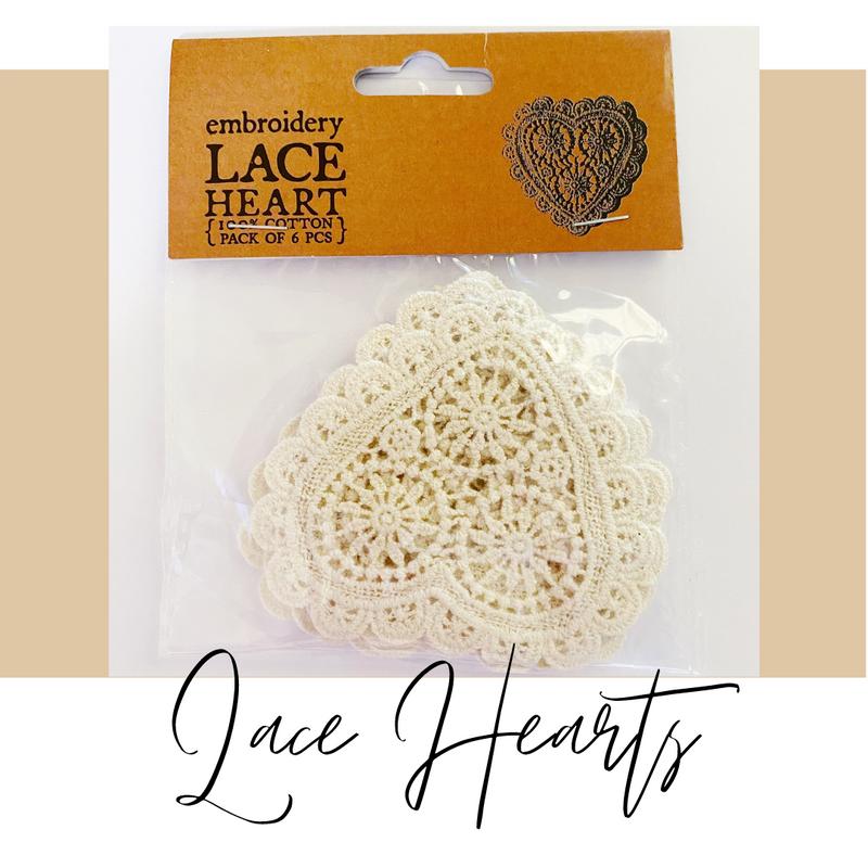 Crochet Lace Hearts