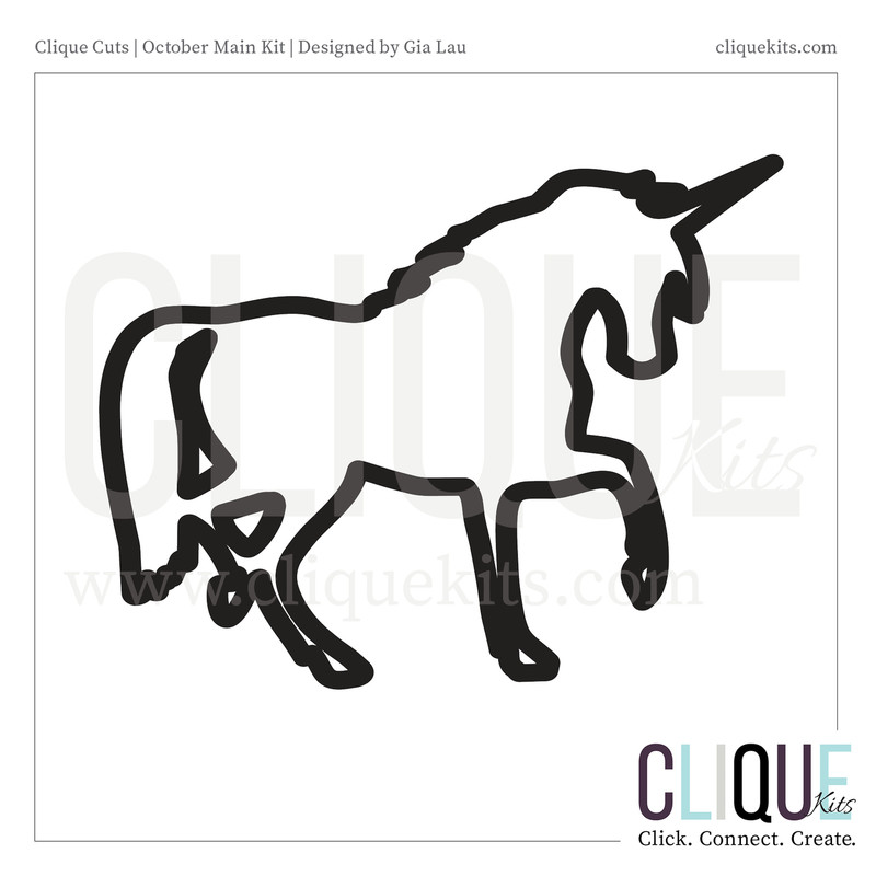 Unicorn | Digital Cut File