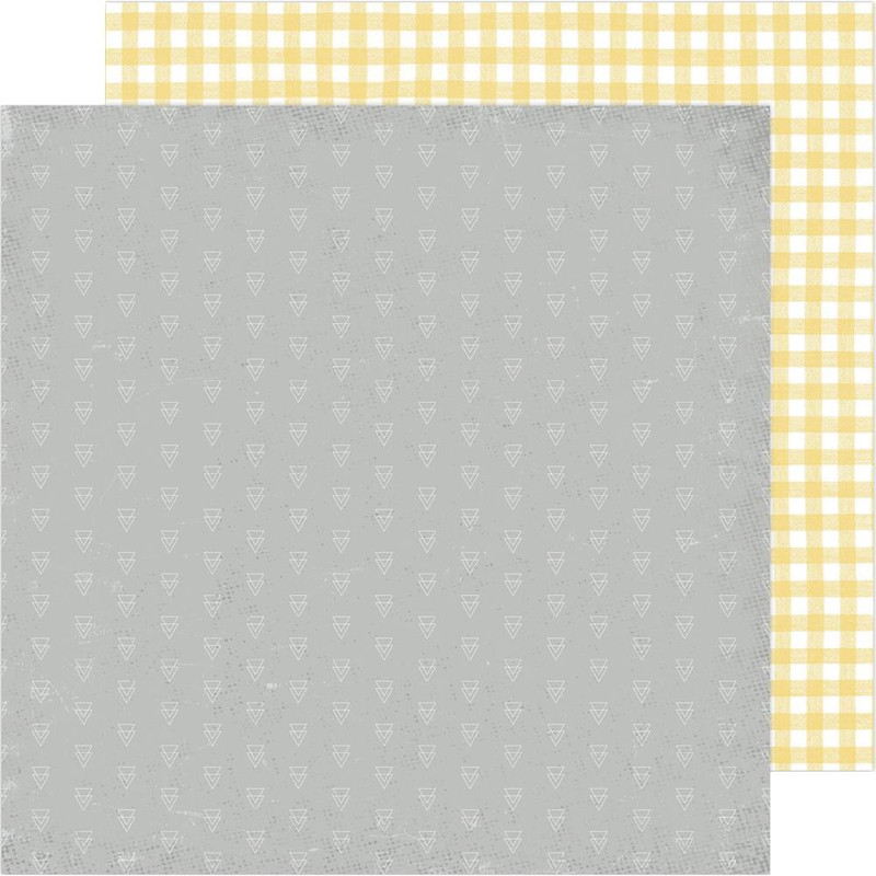 Mellow Yellow | 12 x 12 Patterned Paper | Heidi Swapp Storyline