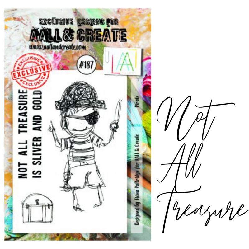 Not All Treasure Stamp Set | AALL & Create