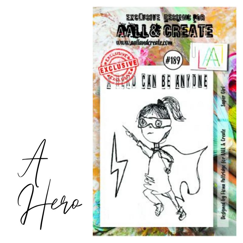 A Hero Stamp Set | AALL & Create