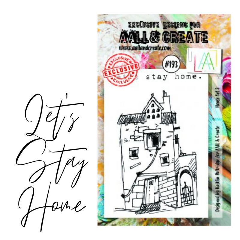Let's Stay Home Stamp Set | AALL & Create