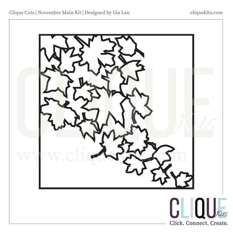 Fall Leaves  | Digital Cut File
