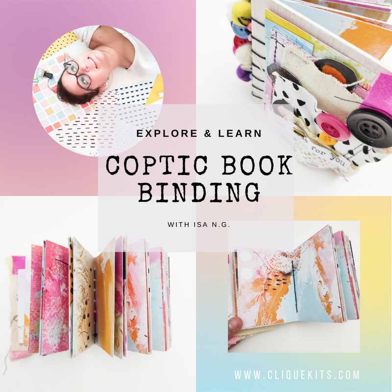 Online Class | Coptic Book Binding with Isa N.G.