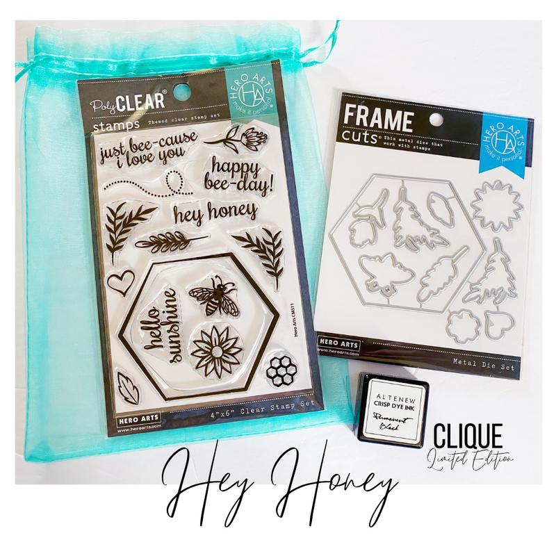 Limited Edition Kit | Hey Honey | Hero Arts