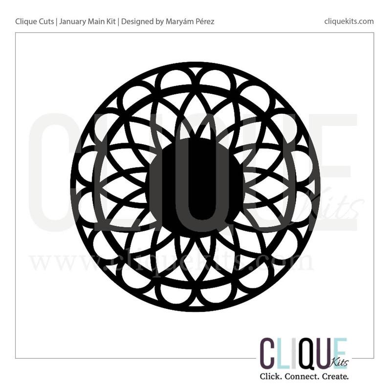 Simple Mandala | Digital Cut File
