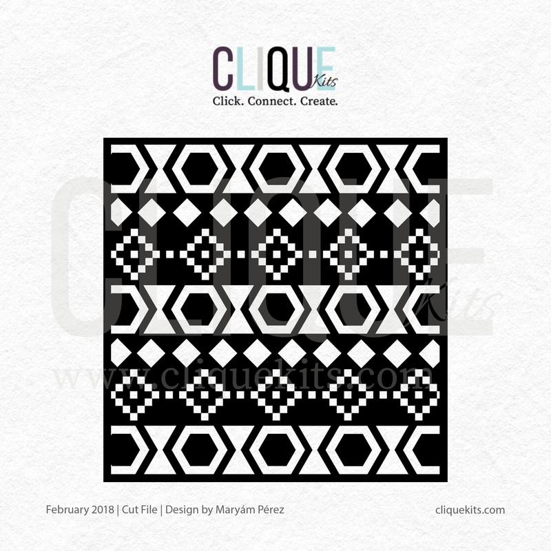 Navajo Pattern | Digital Cut File