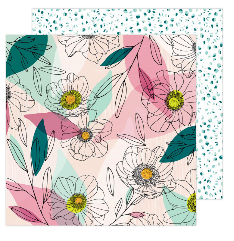 Anemone| Amy Tangerine Brave and Bold | American Crafts