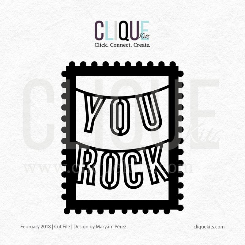 You Rock    Digital Cut File