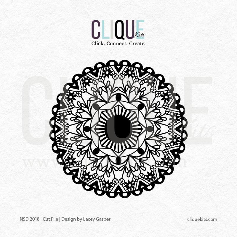 Lacy Mandala | Digital Cut File