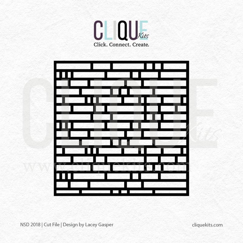Brick  | Digital Cut File