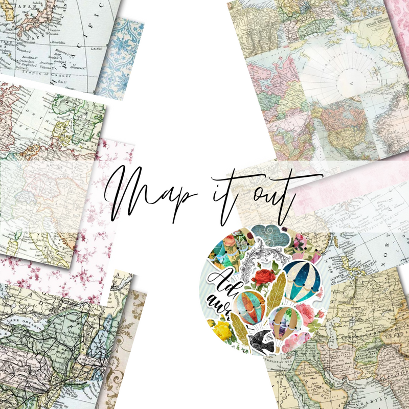 Limited Edition Kit | Map it out | Memory Place