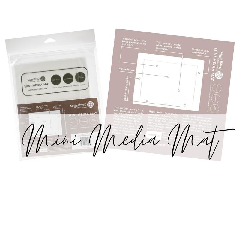 Mini Media Mat   Waffleflower Crafts