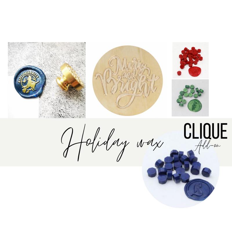 Add-on Kit | Holiday Wax Seals | DIY & Cie