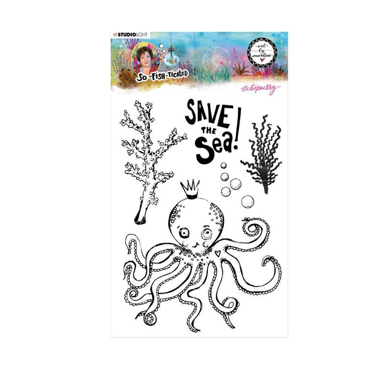 Save the Sea Stamp Set   Art by Marlene   Studio Light
