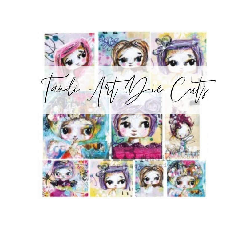 Tandi Art Die Cuts   A.B. Studios