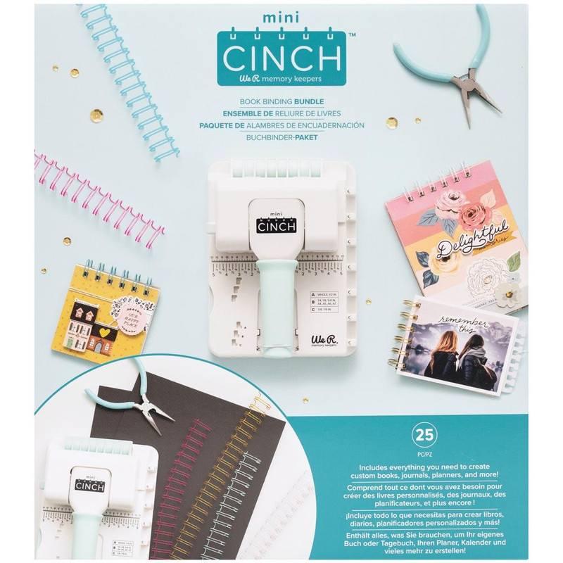 Mini Cinch Bundle   Book Binding Kit   We R Memory Keepers
