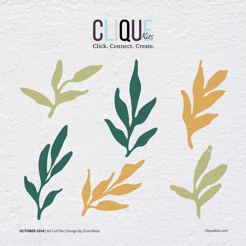 Leafy | Digital Cut File