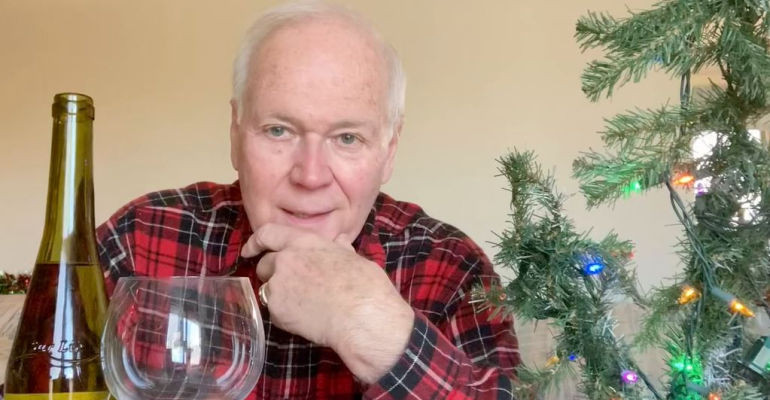 A Festive White with Bill