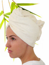 bamboo and organic cotton terrycloth headwrap