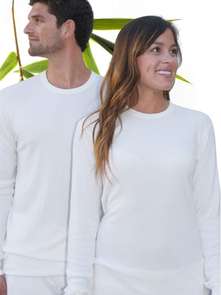 Bamboo and Organic cotton Thermal top