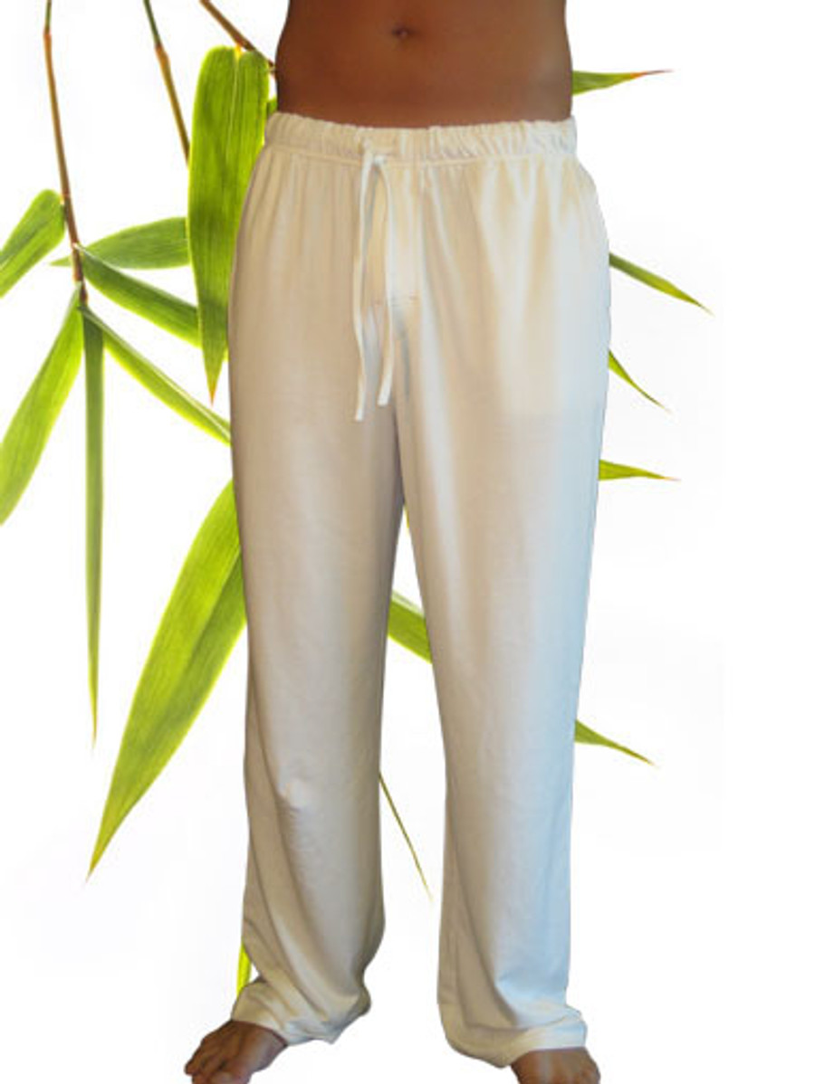 Men's bamboo organic cotton lounge or yoga pant