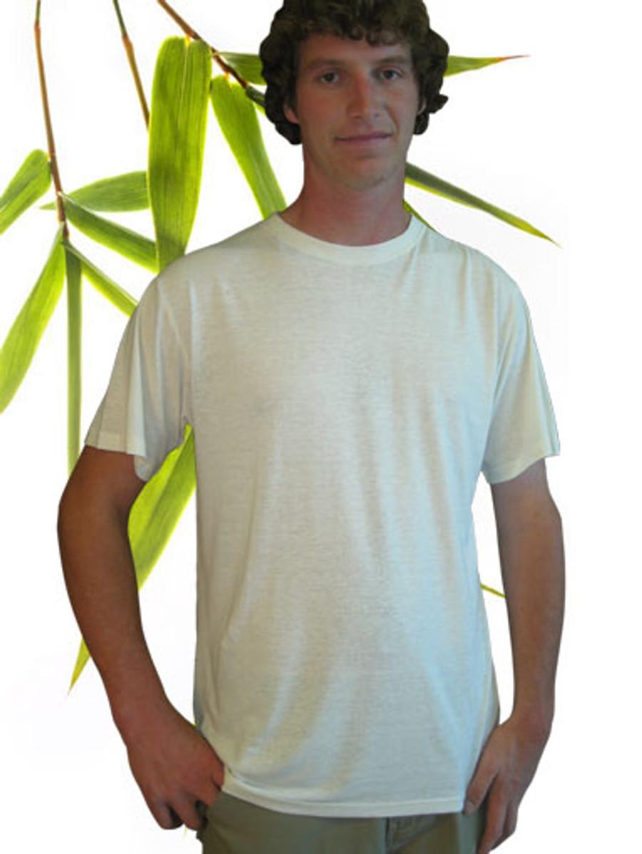 Men's hemp and bamboo tee shirt