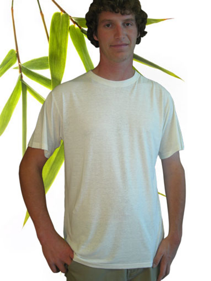 Men's hemp and bamboo tee shirt