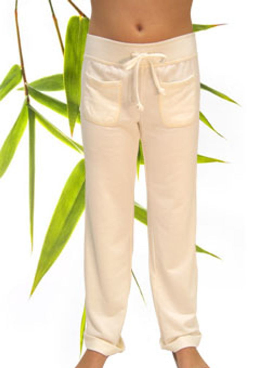Girls Bamboo Organic Cotton Lounge Pants dyeable