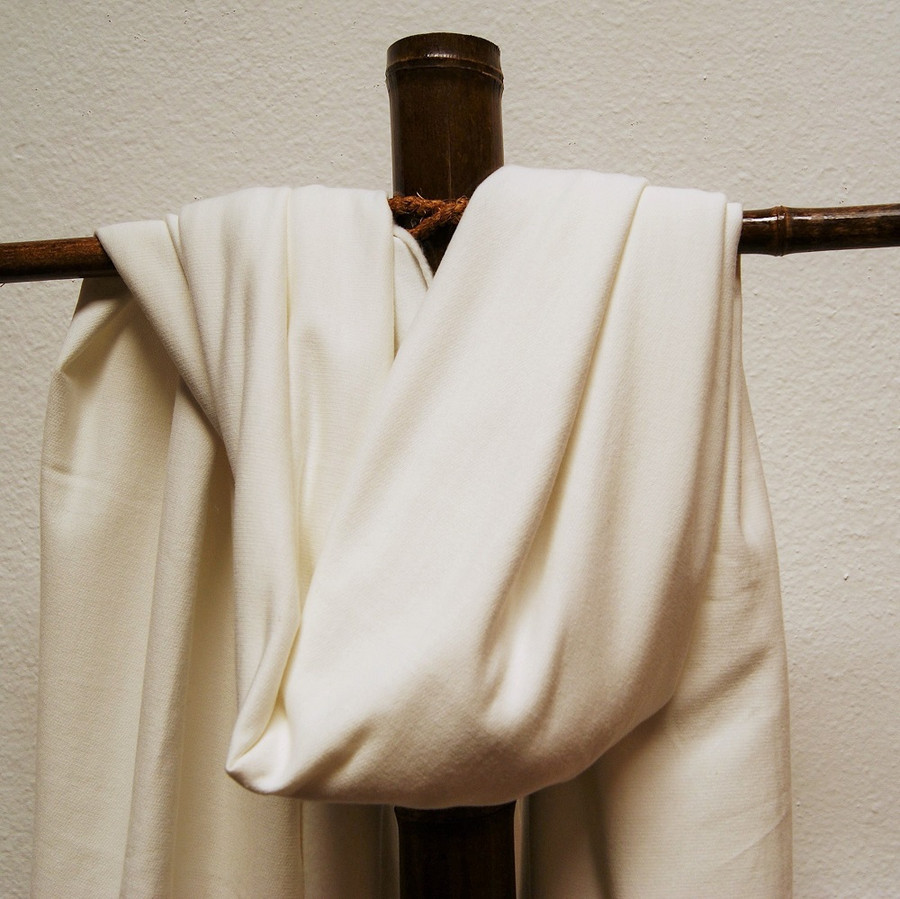 Bamboo Flannel 100% bamboo fiber natural and prepared for dye