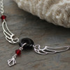 Deco Wing - Sterling Silver