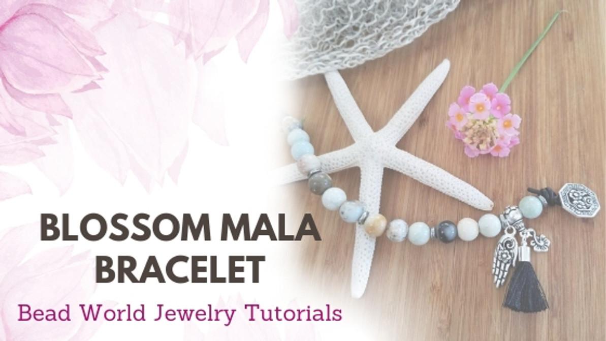 Blossom Mala Bracelet