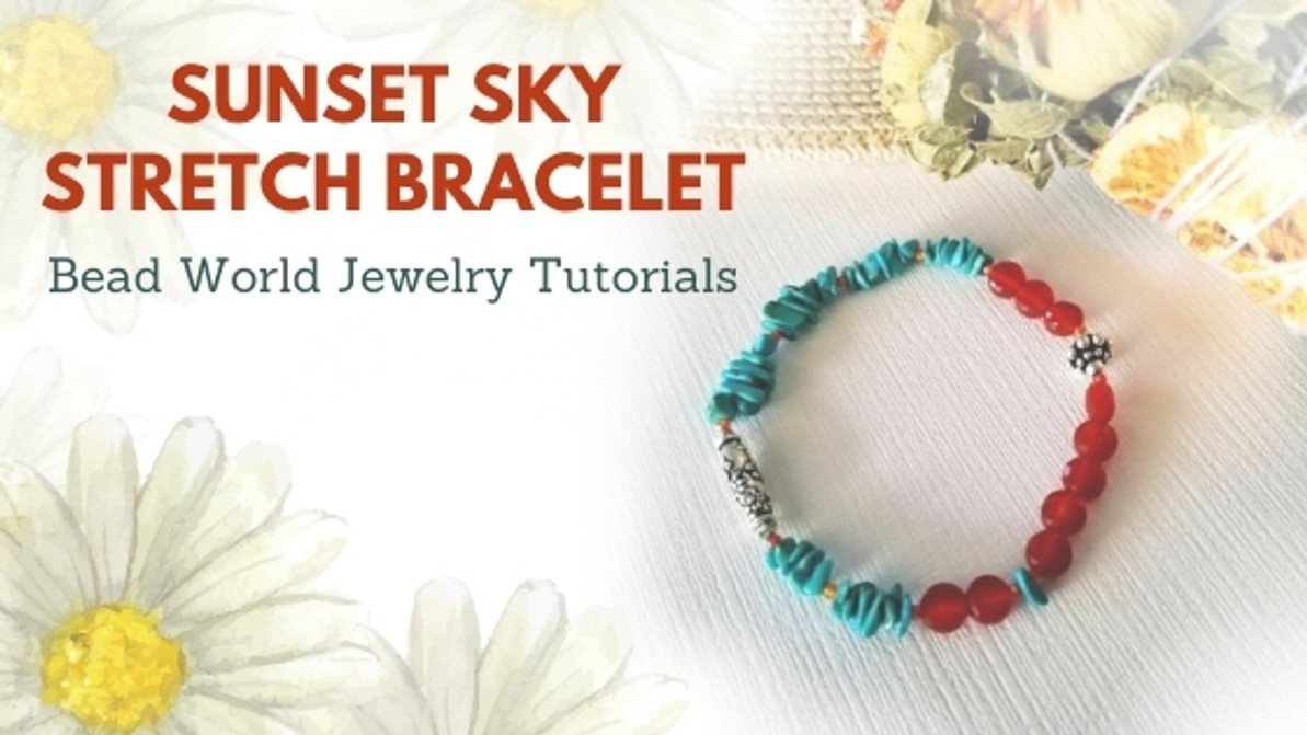 Sunset Sky Stretch Bracelet
