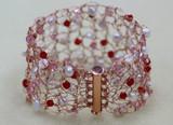 Wire Crochet Cuff Bracelet Tutorial