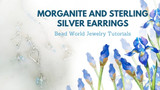 "​""Two Hearts are Better than One"" Earrings – Morganite & Sterling Silver"