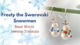 Frosty the Swarovski Snowman