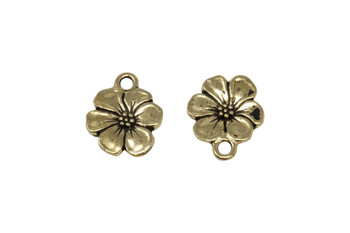 Apple Blossom Charm - Gold Plated