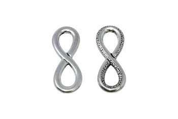 Infinity Link - Silver Plated