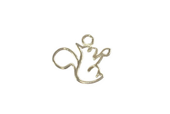 Rocky the Squirrel - Sterling Silver
