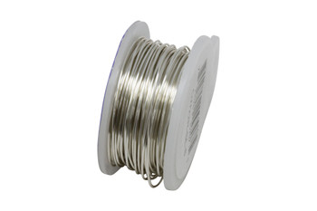 22 Gauge Craft Wire 8 Yards - Silver