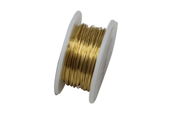 26 Gauge Craft Wire 15 Yards - Gold